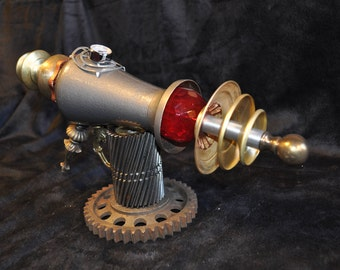 "Ray Gun "" FRACTILE MELTER RAYGUN "" Table Top Steampunk Sci-fi Victorian Industrial"