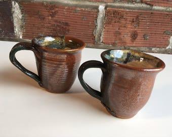 Set of Two Stoneware Mugs