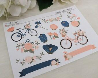 Emma Planner Deco Stickers, Planner Accessories
