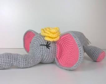 Crochet Toy Pattern PDF, Amigurumi,  Animal Crochet Pattern, Elephant Pattern