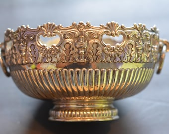 F.B. Rogers silverplate ornate bowl