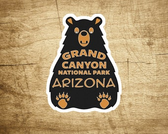 "Grand Canyon National Park Decal Sticker Arizona 3.6"" x 2.75"""