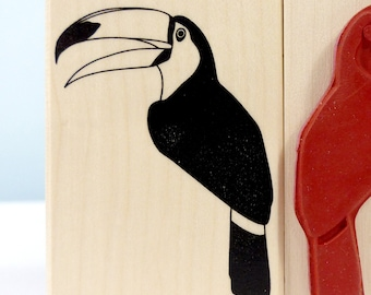 Stamp Toucan bird