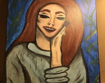 Lana Del Rey (Acrylic)