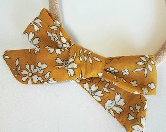Liberty Collection - Classic bow / choose your liberty fabric bow / hair bow / hair clip