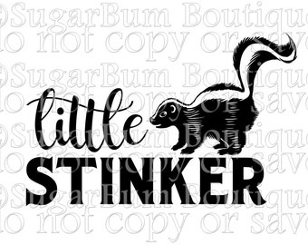 Little Stinker svg