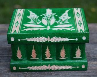 Jewelry box, UNIQUE GIFT, Personalized secret compartment box, Surprise box, puzzle box, Trinket box, Wooden money bank, Secret stash box