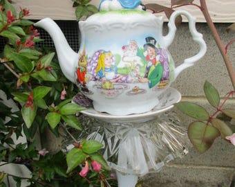 Alice in Wonderland Tea Party Garden Stake