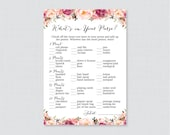 Pink Floral Baby Shower W...