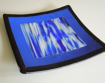 "8""x8"" Centered Blue Spirit Plate"