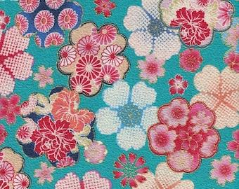 Fabric 50 cm (width110cm) Japanese cotton fabric design