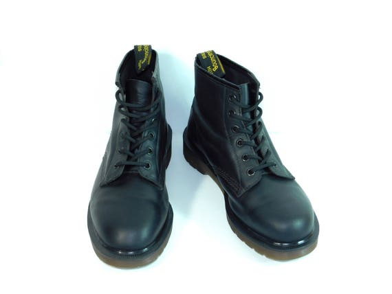 USMens ~made 7 in US Eye 7~Rare 6 Black 5 Leather 7 Women 5 Dr Vintage size Uk to England UK 9 Martens 9 8pZwOFqwn