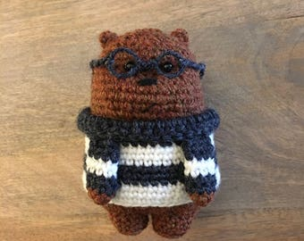 somos osos tejido a crochet || amigurumi (We Bare Bears) - YouTube | 270x340