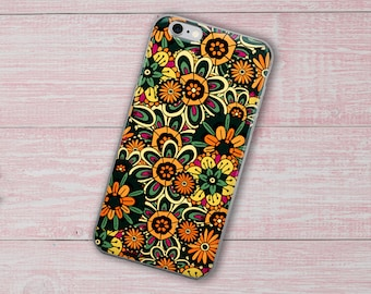 Floral pattern, Boho Style No1, Phone Case For iPhone 8 iPhone 8 Plus, iPhone X, iPhone 7 Plus, iPhone 6, iPhone 6S