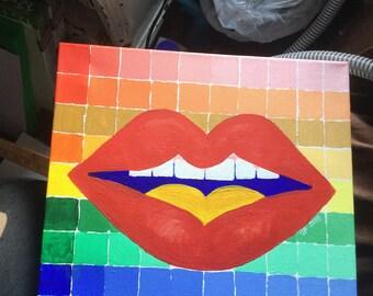 Yo Lips color study