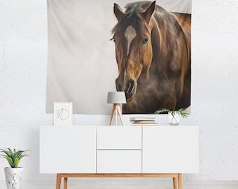 Horse Tapestry | Horse Wall Tapestry | Horse Wall Décor | Horse Tapestries | Horse Wall Art | Horse Art | Horse Décor