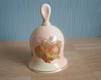 """Royal Worcester Palissy """"Royale Collection"""" Fruit Bell"""