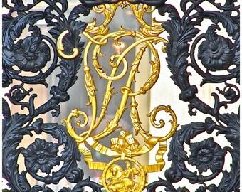 Buckingham Palace Gate Print, London, London Photography, Buckingham Palace, royal gates, European photography