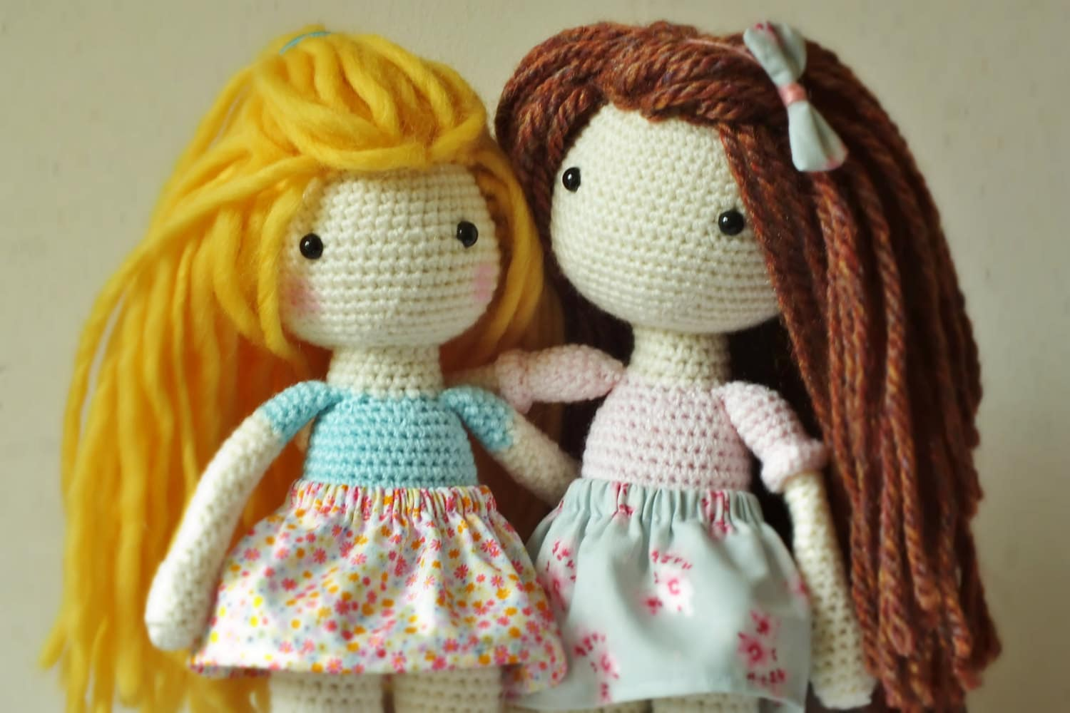 Crochet Amigurumi Doll PATTERN ONLY PDF Instant Download