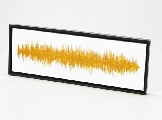 Custom Song Print Sound Wave Art Print Canvas or Framed