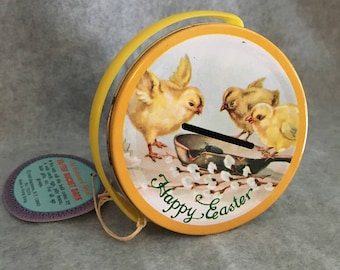 1980 Easter Bucket Coin Bank