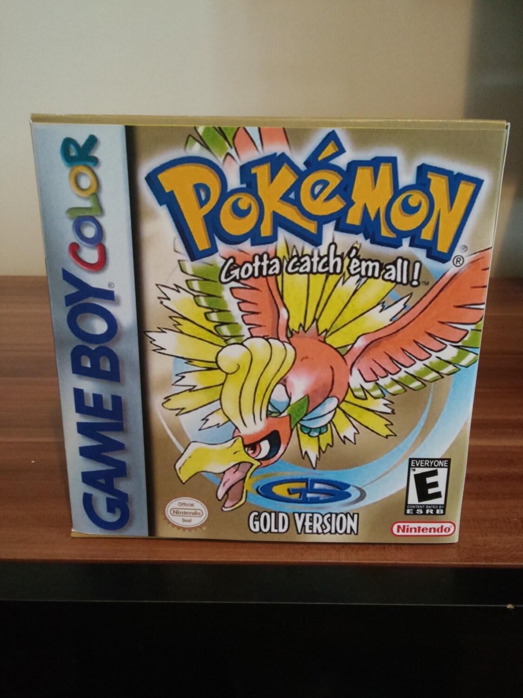 Gameboy Color Pokemon Oro Caja Repro Y No Insertar Ning N # Comprar Muebles Pokemon Esmeralda