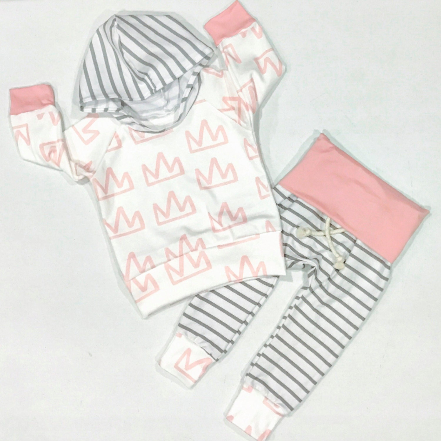 Baby girl outfit baby girl clothes pink baby outfit