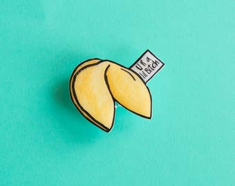 Fortune Cookie pin