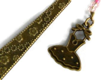 Ballerina Fancy Jeweled Bookmark (JB17)