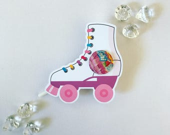 Roller skate MINI lollipop holders