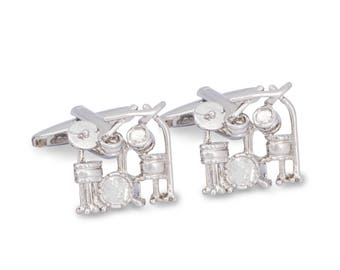 Drummer Cufflinks, Drum Set Cufflinks