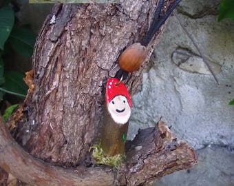 Gnome pendant - Woodland Spirit