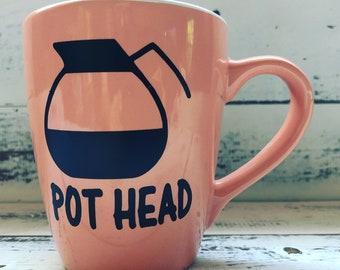 Pot Head Coffee Mug