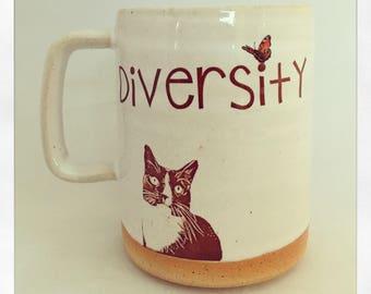 Diversity- Baby Jesus the Cat 2018 Mug