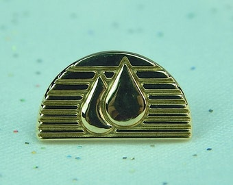 Vintage Tiffany & Co 585 14K Yellow Gold Lapel Pin or Tie Tack. Gift For Him. Gold Tiffany Pin.