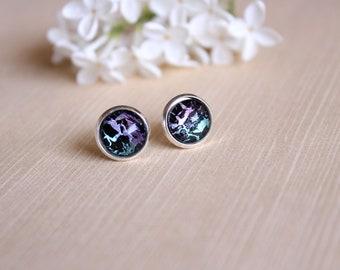 Electric Mystic Earrings ~ Jewelry ~ Earrings ~ Stud Earrings ~ Hoop Earrings ~ Lightning Earrings ~ Lux in Tenebris ~ Made To Order