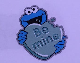 Cookie Monster die cut from Sesame Street