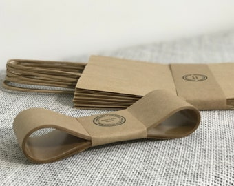Kraft Paper Tape   10m Gummed Paper Ribbon   Soap Packaging   Soap Bands   Product Packaging   Belly Bands   Belly Band Paper
