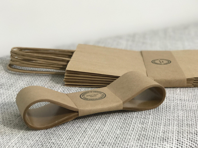 Brand new Kraft Paper Tape | 10m Gummed Paper Ribbon | Soap Packaging | Soap  HK53