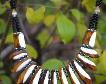 Statement Necklace Handmade in Kenya