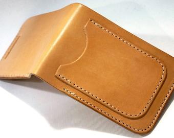 LeatherLegion Bi-Fold wallet / Free shipping for N America