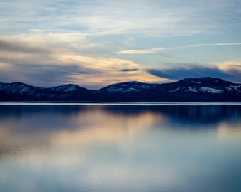 Sunset at Lake Tahoe