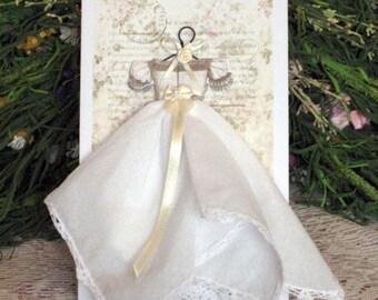 Tea Party  Hanky Dress Card