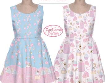 Fairy Kei Dress Cupcake Dress Pastel Dress Kawaii Pastel Dress sweets dress Frosting Dress Icing Dress Cake Dress **MTO, Month**