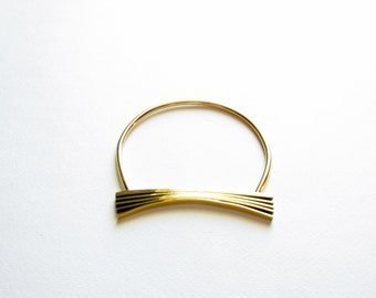 Statement Bangle-Bangle Bracelet GoldOxidized Bangle-Gold Bangle-Modern Gold Bangle-Greek Inspired-Gift For Her-Modern Greek Jewellery