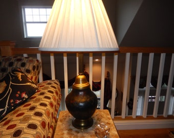 """POTTERY TABLE LAMP Signed """"Fremont"""""""