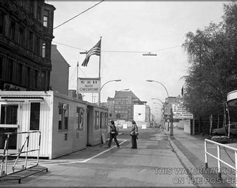 Poster, Many Sizes Available; Checkpoint Charlie C1977 East Berlin