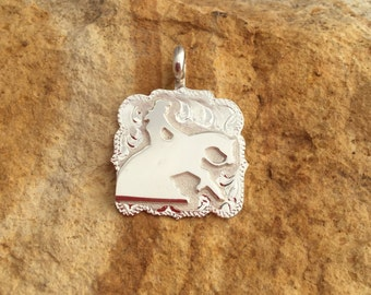 Lady Reiner Pendent/ Artisan Handmade/ Sterling Silver