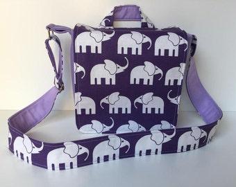 children's bag (S) 'Elephant Walk' purple
