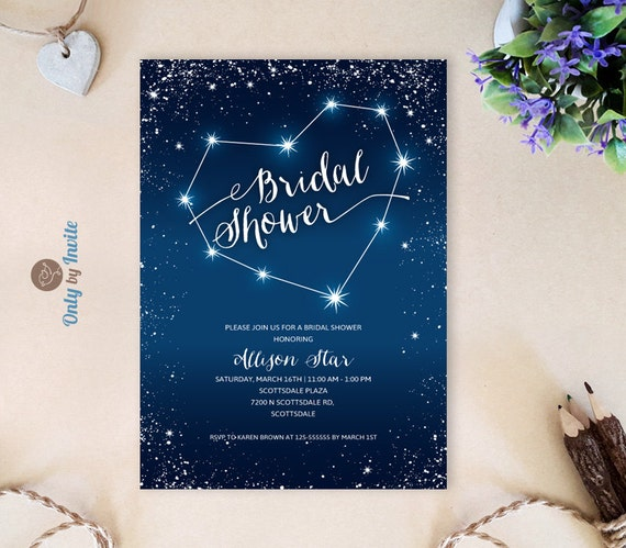 Printed bridal shower invitations cheap evening bridal like this item filmwisefo Image collections